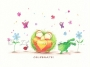 Box of 10 Sprout greeting cards